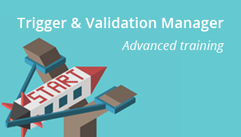 Trigger & validation manager advanced training